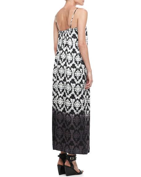 Dip-Dye Maxi Dress