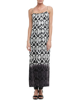 12th Street by Cynthia Vincent Dip-Dye Maxi Dress