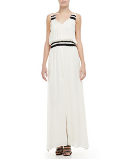 Parker Adelaide V-Neck Maxi Dress