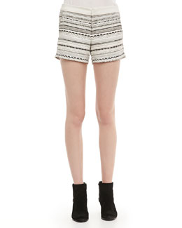 Parker Riley Patterned Shorts