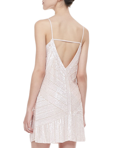 Kate Sequined Shift Dress