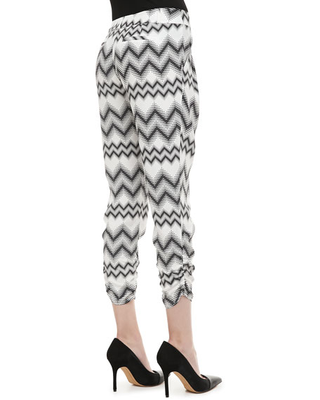 Devlin Tapered Zigzag Pants