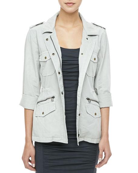Twill Army Jacket