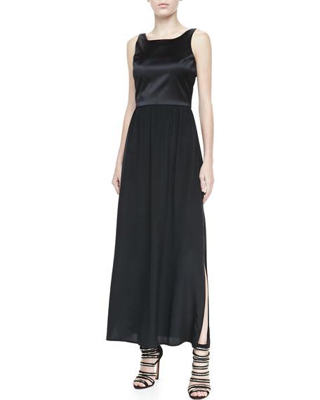 Sleeveless Combo Maxi Dress