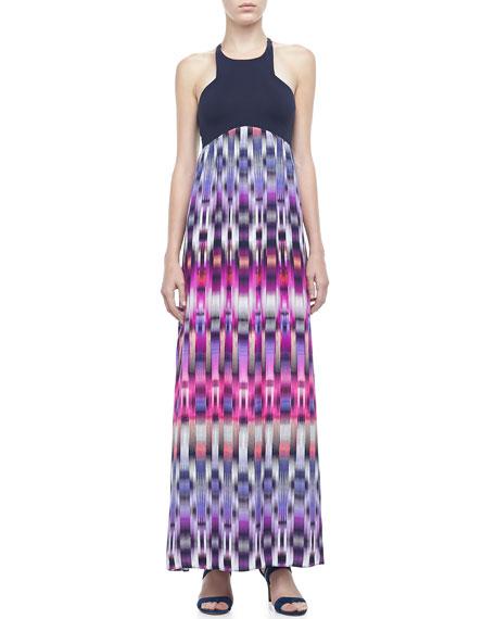 Nia Printed Maxi Dress