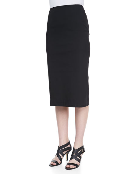 Over-the-Knee Pencil Skirt