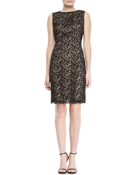Holly Lace Sheath Dress