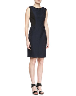 Elie Tahari Holly Lace Jacquard Dress