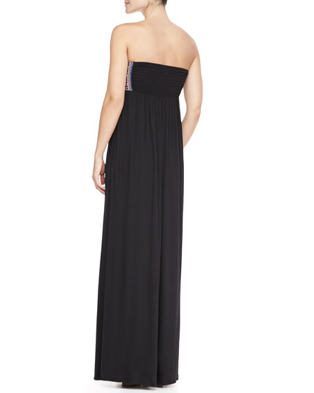 Mirror Bustier Maxi Dress