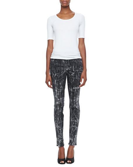 Joy Leggings with Distressed Coating