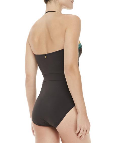 Mayan Riviera Goddess One-piece Swimsuit