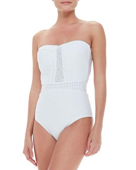 Ooh La La Eyelet Seductress One-Piece Swimsuit