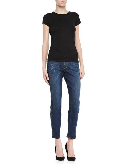 Wisdom Skinny Ankle Jeans, Velvettes