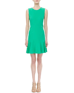Diane von Furstenberg Jaelyn Sleeveless Flutter Dress