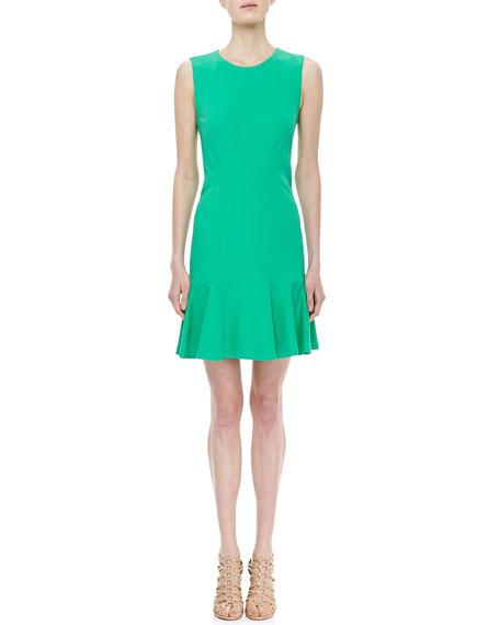 Jaelyn Sleeveless Flutter Dress