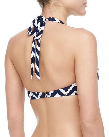 Santorini Halter Bikini Top