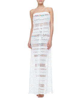 Milly Pahala Crochet Maxi Dress
