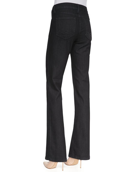 Marilyn Dark Enzyme Straight-Leg Jeans, Women's