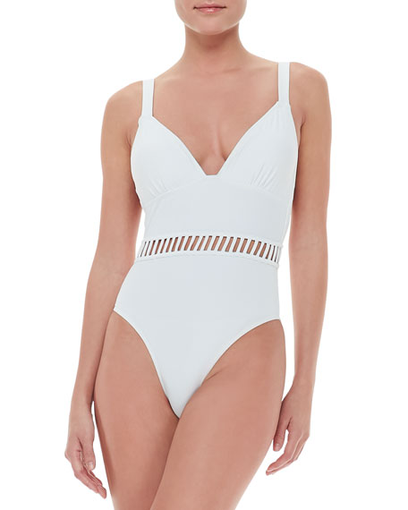 Bombini Cutout One-Piece Swimsuit