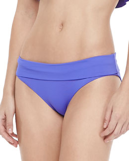 Maaji Periwinkle Flirty Reversible Hipster Swim Bottom