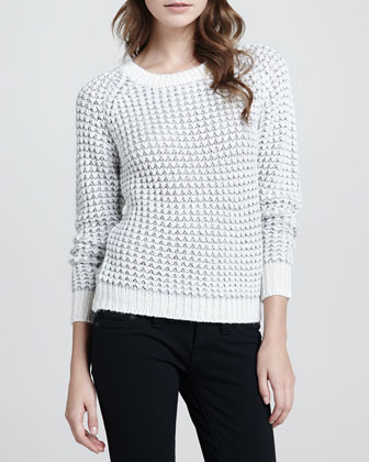 Kyleen Rib-Trim Sweater