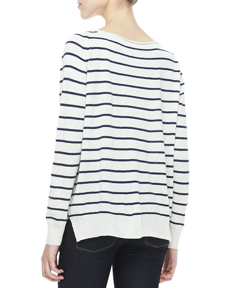 Emari Striped Sweater
