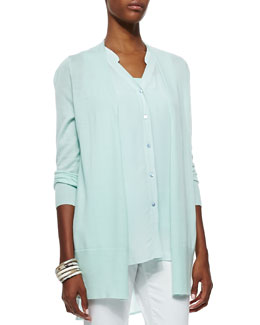 Eileen Fisher Featherweight Cashmere Cardigan, Women's