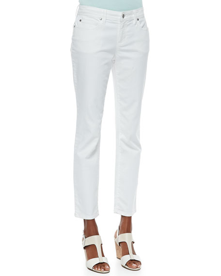 Organic Skinny Ankle Jeans