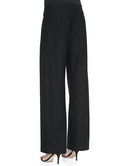 Modern Wide-Leg Pants, Petite