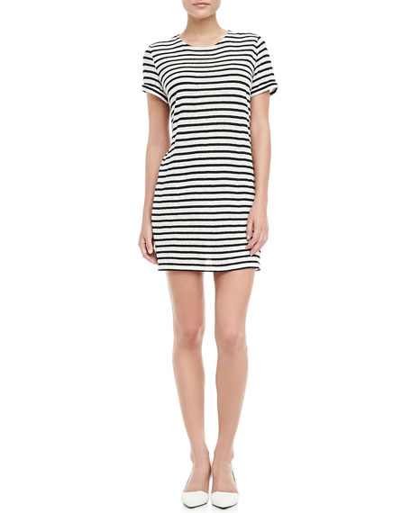 Striped Slub Dress