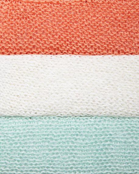 Linen Knit Mini Tape Box Top, Petite