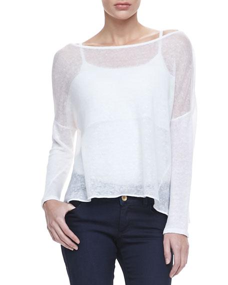 Kerr Sheer Linen Sweater
