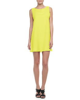 Alice + Olivia Trina Bow-Back Dress