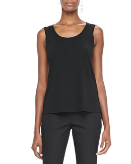 Eileen Fisher Silk Jersey Tank, Women's