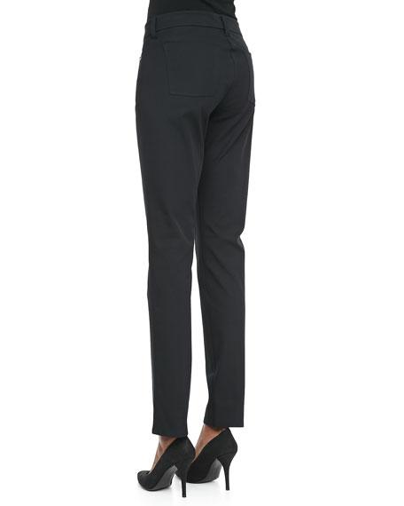 Organic Cotton Skinny Jeans, Black