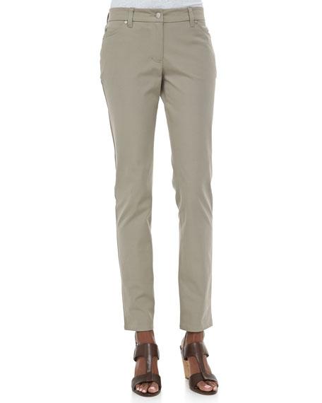 Stretch Ponte Skinny Jeans, Petite