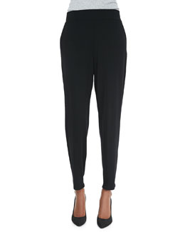 Eileen Fisher Slouchy Tapered Pants, Petite