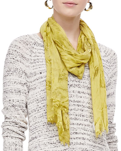Eileen Fisher Shadow-Tinted Modal Scarf