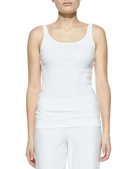 Organic-Cotton Long Slim Tank, Women's