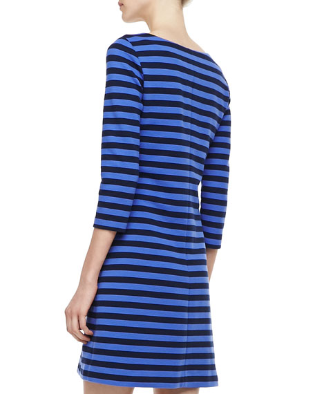 Charlene Ottoman Striped Dress