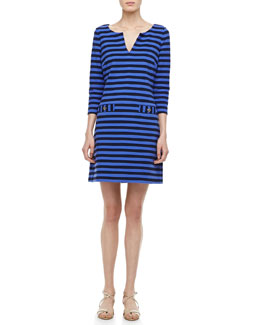 Lilly Pulitzer Charlene Ottoman Striped Dress