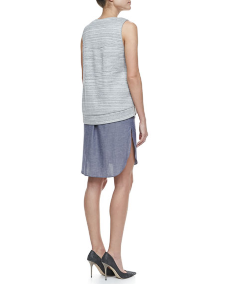 Two-in-One Combo Tank Dress