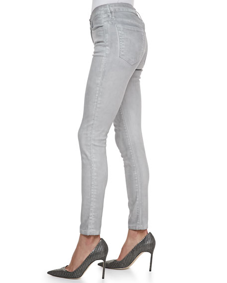 High Water Skinny Jeans, Ash