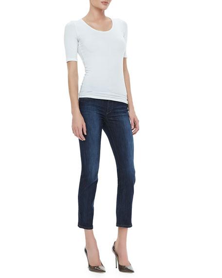 Danitza Cropped Skinny Jeans