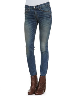 rag & bone/JEAN Brimfield Faded Skinny Jeans