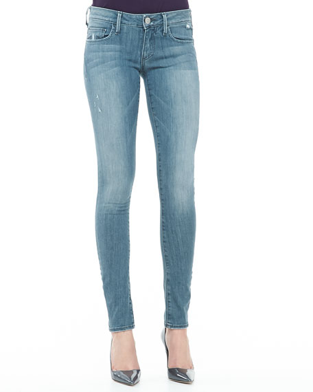 Jude Blue Roots Skinny Jeans