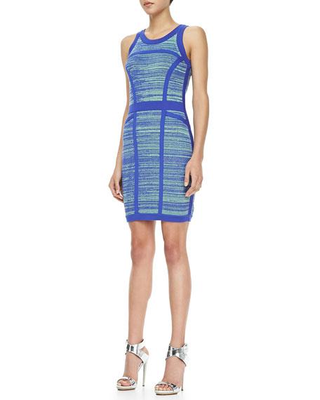 Formfitting Space-Dye Dress