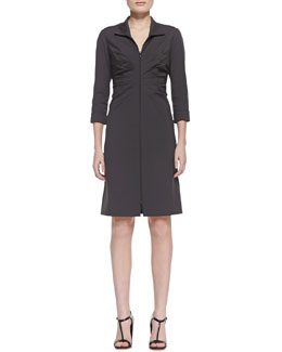 Lafayette 148 New York Denielle 3/4-Sleeve Dress