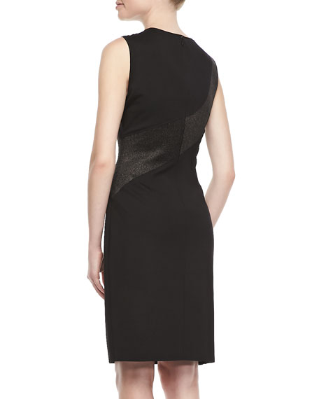 Farida Crepe Sheath Dress