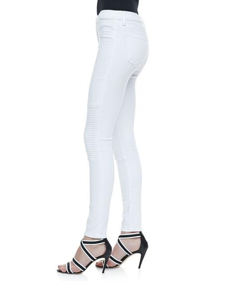 Nicola Skinny Motorcycle Jeans
